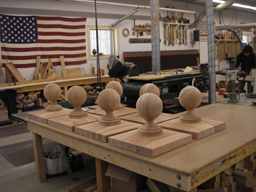 Hanson Woodturning, Custom Made Interior and Exterior Wood Finials.