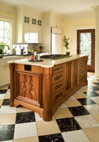 Hanson Woodturning, Furniture Parts - Bed Posts, Table Legs, Pedestal Bases, Tapered Columns and Kitchen Islands.