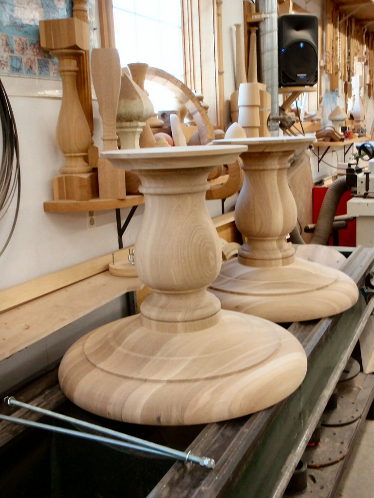 ... Hanson Woodturning, Furniture Parts   Bed Posts, Table Legs, Pedestal  Bases, Tapered