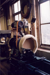 Hanson Woodturning. Maine Manufacturer of Custom Turned Wood Products.