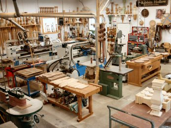 Hanson Woodturning, large work - Porch Posts, Pedestal Bases, Pool Table Legs, Stave Built, Tapered Wood Columns.