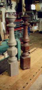 Hanson Woodturning, Stair Parts - Balusters, Spindles, Newels and Finials.